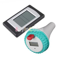 Wholesale New Professional Wireless Digital Swimming Pool SPA Floating Thermometer