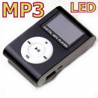 Sports 128mb micro sd card - 10pcs Clip mp3 player with screen Support MB GB Micro SD card Factory price DK952M