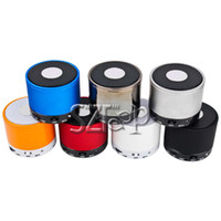 Wholesale MINI Speaker Portable Wireless Bluetooth Speaker Multi color Via DHL