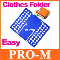 Wholesale Clothes Laundry Folder Flip Speed Magic Shirts Folding Board Folder Organizer colors choice free