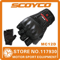 Wholesale 2013 scoyco mc12d motorcycle protective shell gloves sports half finger accessories