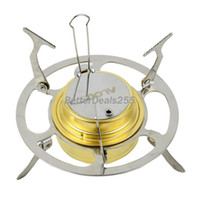 Wholesale New High Quality Portable Stainless Steel Spirit Burner With Stand