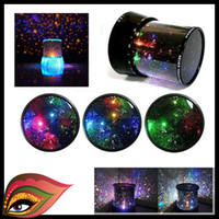 Wholesale LED Amazing Sky Star Master Night Projector Light Lamp Beautiful Starry christmas gift Galaxy Light