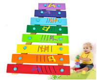 Wholesale Childrens Toddlers Wooden Xylophone Educational Gift Percussion New Musical Toy