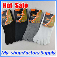 Wholesale Toe Socks Polyester Cotton Men Color Anti Beriberi Deodorant Free Shiping Knit Socks