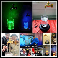 Wholesale LED Water lamp decoration light magic cup lamp magic faucet Night Light Beautiful christmas gift