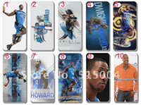 Wholesale NBA USA basketball star hard back case for iphone th10pcs Dwight Howard