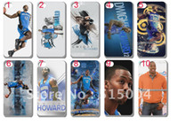 Wholesale NBA USA basketball star hard back case for iphone S G Dwight Howard