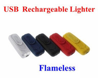 Wholesale USB Electronic Rechargeable Battery Flameless Cigarette Cigar Lighter