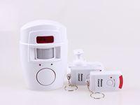 Wholesale 105db m Wireless IR Motion Sensor home Security Alarm Alert system