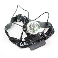 Wholesale 3xCREE XM L T6 Lm LED Bicycle bike Headlamp Rechargeable Head light Torch L184