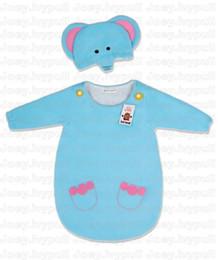 Wholesale 5 styles Newborn Baby sleeping bag cbeer cow elephants beetles sleeping bags Fedex