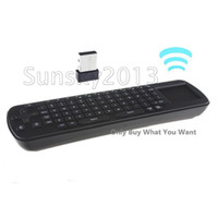 Wholesale NEW RC12 Wireless G Air Mouse Keyboard Remote Control for Android TV Box MK802 UG802 MK808