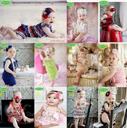 Cute!30pcs Toddler Baby Girl Lace Posh Petti Ruffle Rompers Infant Child One-Piece TuTu Lace Clothes
