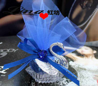 Wholesale FreeShipping Colors Beauitful Crystal Swan Wedding Favor Gift Box Silver Color Swans Candy Boxes