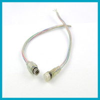 5 sets\lot 36 cm Waterproof 4pin RGB Strip Cable Used for LE...