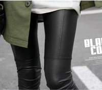 Women Skinny,Slim Other Sexy Ladies Faux Black Leggings Leather Trousers Tights Pants Low Waist Leggings