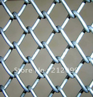 Wholesale fence manufacturer chain link fence fence panel customer order wire diameter mm opening mm