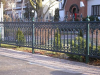 Wholesale Classic Iron Fence Wrought Iron Fence mild steel