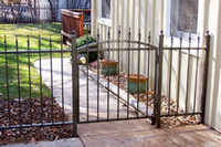 Wholesale Farm Gate Wrought Iron Fence mild steel
