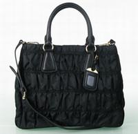 Women fashion fabric handbags - Handbags New Women Bag Ladies Handbag Pink Gey Fabric Leather Bags Fashion Cheap Woman Handbags