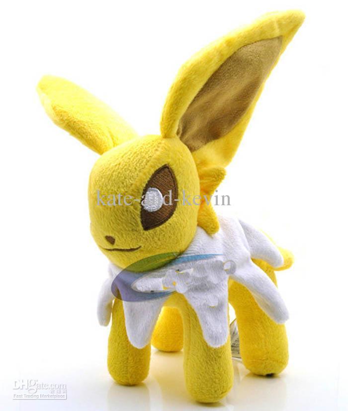 Soft Toys With Pockets : Jolteon plush toy pocket soft doll cm high