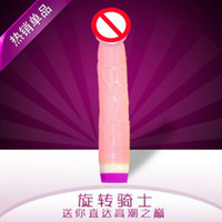 Wholesale Rotate Cock Sex Dildo toy Vibrating Rotation Vibration Adult toy Sex Penis Female masturbation