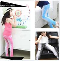 Wholesale Girls Jeans feet Pants Girl s Pencil pants Children s Jeans colors styles jeans dandys