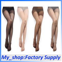 Wholesale Women Stockings Nylon Wire Color Breathable Sweat Absorbent Free Shiping Pantyhose Tights FZ0018
