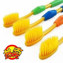 Wholesale Nano toothbrush ultrafine double layer soft bristle toothbrush clean