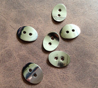 Wholesale Oval Alloy Button Clasp Metal Jewelry Finding Beads For Wrap Leather Bracelet