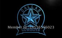 Wholesale LD239 TM Dallas Cowboys Sport Bar Neon Light Signs Advertising