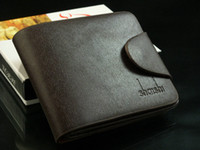 Wholesale Top Quality Leather Wallet High Quality Men Pocket Card Clutch Cente Bifold Purse