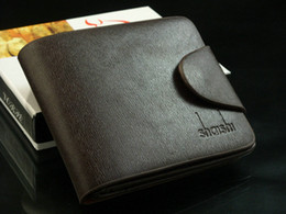 Wholesale Top Quality Leather Wallet High Quality Men Pocket Card Clutch Cente Bifold Purse for men