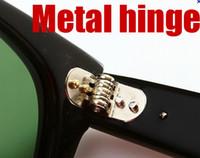 hinges - High Quality Metal hinge Plank black Sunglasses glass Sunglasses beach sunglasses Green Lens