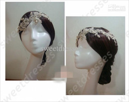 Wholesale 2013 new look beautiful shining sequence beaded lace beaded hairpin wedding accessories TU922