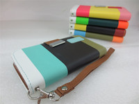 Hybrid Colorful Wallet Credit Card Stand leather case cover ...