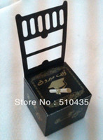 Wholesale Graduation Cap Square Wedding Favor Boxes Candy Boxes Chocolate Box high quality