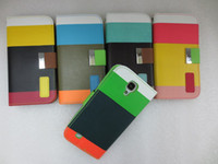 For Samsung Leather Yes Painting Hybrid Colorful Wallet leather case For Samsung Galaxy S3 i9300 S4 I9500 S5 I9600 S4 mini i9190 S3 MINI I8190 50CASE+50Film=100pcs