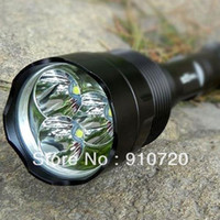 Wholesale 1PC Trustfire T6 Flashlight Mode Lm CREE XM L XML T6 LED Flashlight High Power Torch E