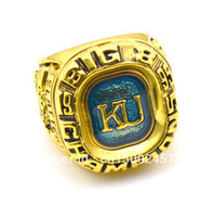 Wholesale fashion replica Kansas University quot Big quot Conference world Champions Tennis Ring