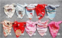 Wholesale Baby Bibs Sling Scarf Baby Stay Dry Dribble Bandana Bibs Triangle Head Scarf For Boys amp girls