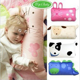 Wholesale Cute Top Baby Designs Baby Cartoon Animals Bedding Pillow Case Child Cozy Pillow Covers