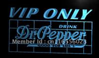 dr pepper - LA686 TM VIP Only Dr Pepper Neon Light Sign Advertising