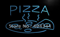 pizza sign - LB004 TM OPEN Hot Pizza cafe Restaurant Neon Light Signs Advertising