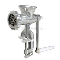 Wholesale Cast Iron Manual Meat Grinder Mincer Table Hand Crank Tool for Kitchen