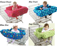 Wholesale Baby kids toddler shopping cart cover trolley cart cover shopping trolley seat cover cushion pad mat