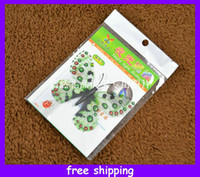 Wholesale Cute airglow simulation butterfly fridge magnet Light in the Dark