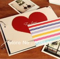 Wholesale Korea Stationery Love angle photo album styles home decor FreeShipping