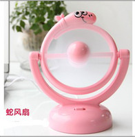 Wholesale Usb battery mirror dual fan laptop fan desktop mini fan